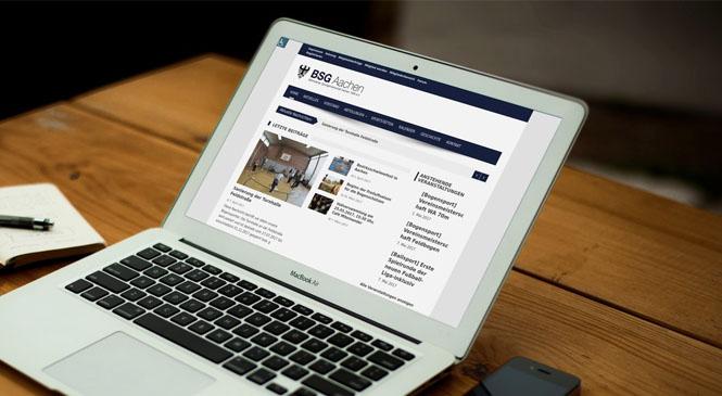Neue Website für die BSG Aachen
