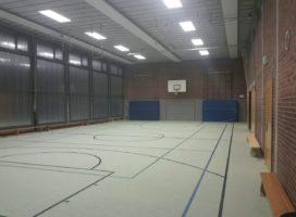 Halle Feldstraße renoviert und wieder offen für den Vereinssport