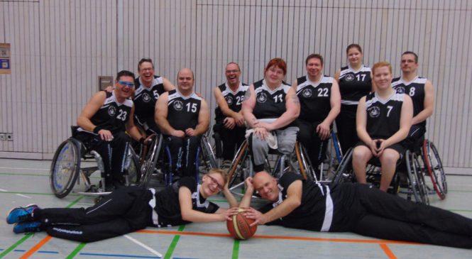 Rollstuhlbasketballer beenden das Jahr 2019 ungeschlagen mit einem Doppelsieg