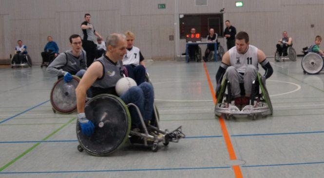 Rollstuhlrugby Regionalliga startet in Aachen
